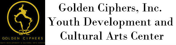 Golden Ciphers Youth Development and Cultural Arts Center Logo